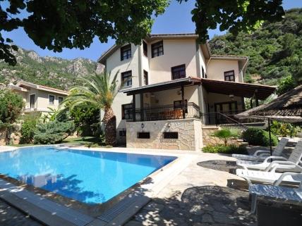 Feriehotel og villa nær Marmaris, Tyrkiet