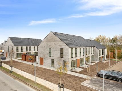 7 rækkehuse i ny bydel, Aarhus