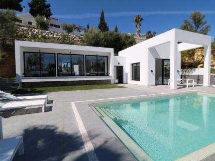 Nyopført moderne villa, Costa Del Sol
